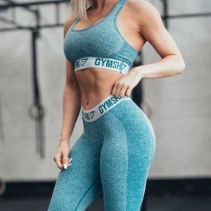 Gymshark Flex Sports Bra Teal